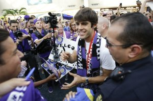 Last summer, Brazilian soccer star Kaka signed a contract with Orlando City, the newest franchise to the MLS.